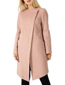 Damsel In A Dress Edenbridge Wool Coat, Dusty Pink by Damsel In A Dress