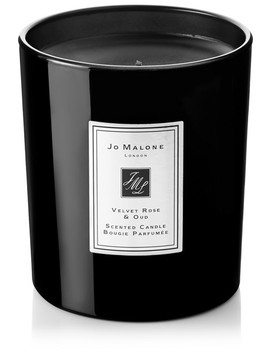 Velvet Rose & Oud Scented Home Candle, 200g by Jo Malone London