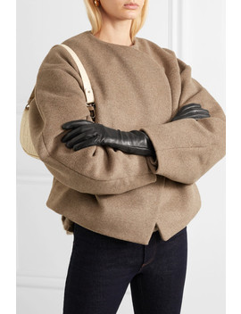 Leather Gloves by Agnelle