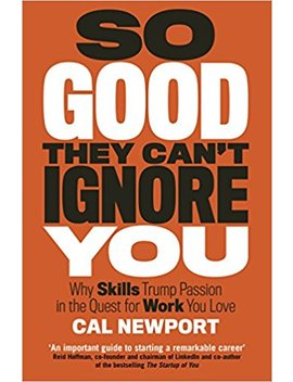 So Good They Cant Ignore You by Cal Newport