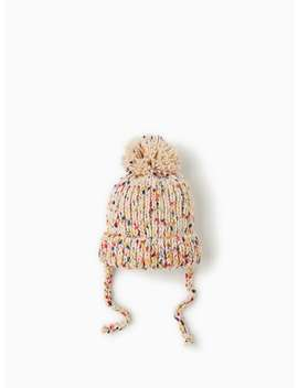 Colorful Knit Hat  Hats, Scarves & Gloves Accessories Mini by Zara