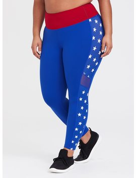 Wonder Woman Star Active Legging by Torrid