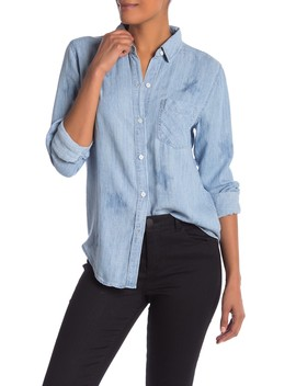 Ingrid Stars Chambray Shirt by Rails