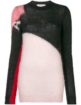 Colour Block Knit Sweater by 1017 Alyx 9 Sm