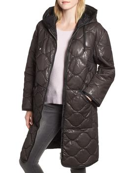 Quilted Nylon Coat by Avec Les Filles