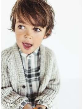 Twisted Yarn Jacket  View All Knitwear Baby Boy by Zara