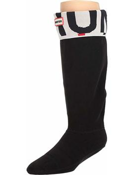 Hunter Unisex Original Tall Boot Sock Exploded Logo Cuff by Hunter