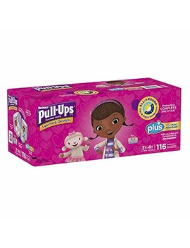 Learning Designs Pull Ups For Girls (Size 3 T 4 T: 116ct, 32 40lbs) by Pull Ups