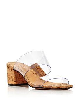 Women's Victorie Mid Heel Slide Sandals by Schutz
