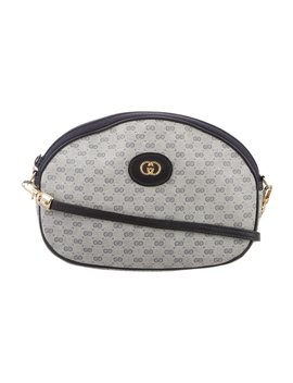 Vintage Micro Gg Crossbody Bag by Gucci