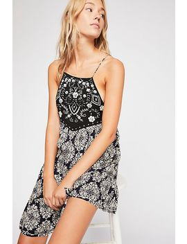 Casablanca Embroidered Slip by Free People