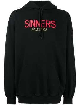 толстовка 'sinners ' by Balenciaga