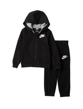 Full Zip Hoodie & Jogger Set (Toddler Boys) by Nike