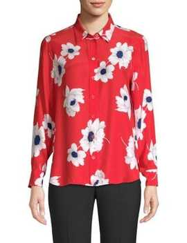 Leema Antiquity Floral Blouse by Equipment