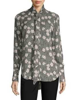 Luis Silk Floral Blouse by Equipment
