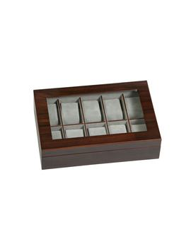 Hudson Glass Top Watch Box by Mele & Co.
