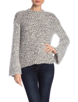 Fluffy Yarn Sweater by Melrose And Market