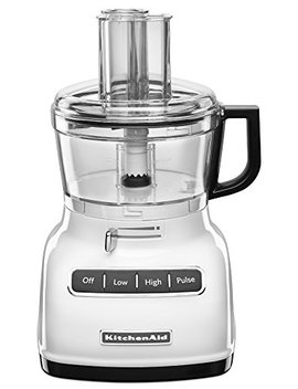 Kitchen Aid Kfp0722 Wh 7 Cup Food Processor With Exact Slice System   White by Kitchen Aid