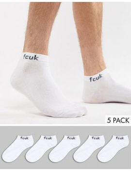 French Connection 5 Ankle Socks by French Connection