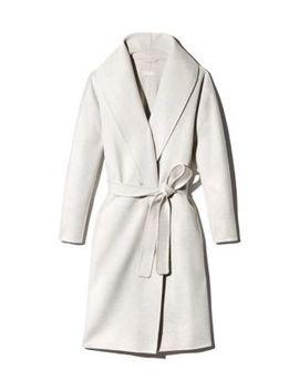 Wool Wrap Coat by Max Mara
