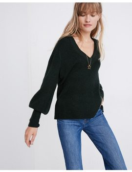 Dashwood V Neck Sweater In Coziest Yarn by Madewell