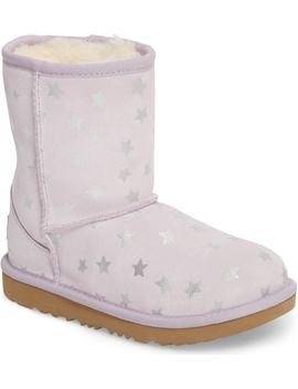 Classic Short Ii Water Resistant Stars Boot by Ugg®