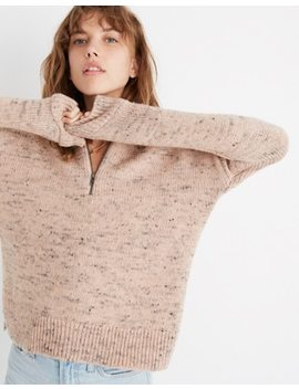 Half Zip Popover Sweater by Madewell