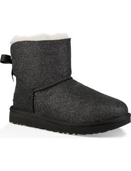 Mini Bailey Bow Sparkle Genuine Shearling Boot by Ugg®