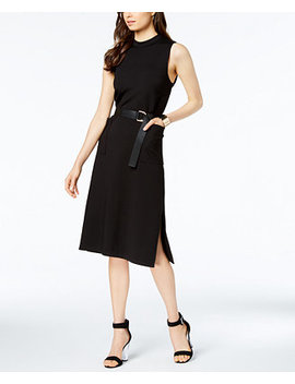 Belted Midi Dress by Avec Les Filles