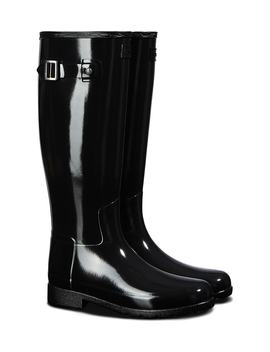 Original Refined Gloss Tall Rain Boot by Hunter
