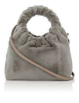 Circle Mink Fur Small Bag by The Row