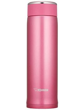 Zojirushi Sm Lb48 Pm Stainless Steel Mug, 16 Ounce, Floral Pink by Zojirushi
