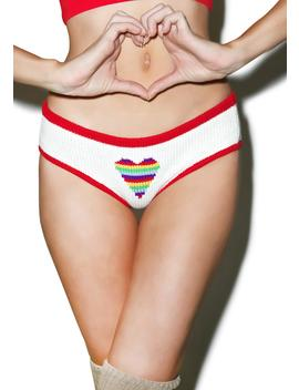 Lite Bright Heart Panty by Knitty Kitty