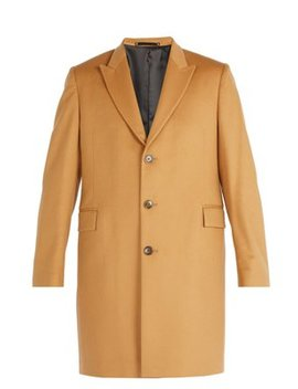 Single Breasted Wool And Cashmere Overcoat by Matches Fashion