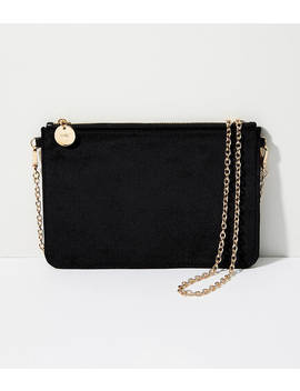 velvet-zip-pouch by loft