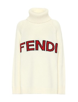 Turtleneck Wool Sweater by Fendi