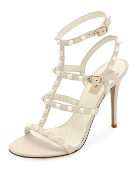 Rockstud High Strappy Sandals by Valentino Garavani