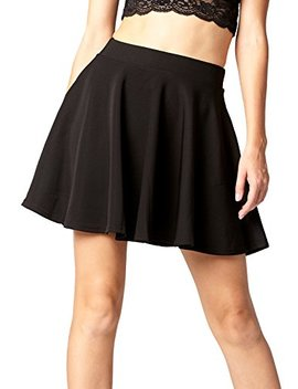 Premium Skater Skirt   High Waist A Line Skirt   Stretch Comfort by Conceited