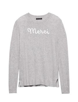 Italian Superloft Merci Sweater by Banana Repbulic
