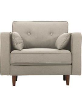 Tucson Arm Chair Taupe   Lifestyle Solutions by Lifestyle Solutions