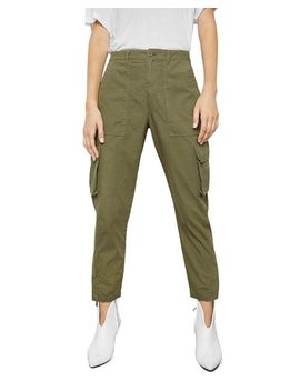 Cropped Cargo Pants by Anine Bing