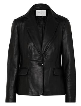 Schoolboy Leather Blazer by Frame