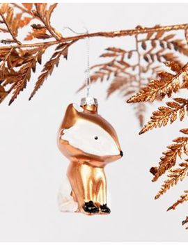 Sass & Belle Mr Fox Christmas Decoration by Sass & Belle