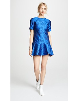 Esther Ruffle Hem Tunic Dress by Alice + Olivia