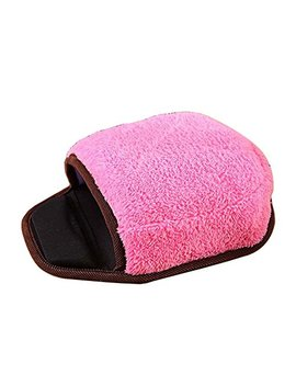 Usb Heated Mouse Pad Mouse Hand Warmer With Wristguard Warm Winter Pink by Black Temptation