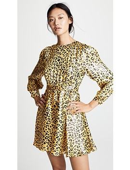 Waist Tie Mini Dress by Diane Von Furstenberg