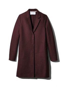 Virgin Wool Overcoat by Harris Wharf