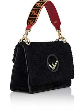 """Strap You"" Mini Velvet Shoulder Strap by Fendi"