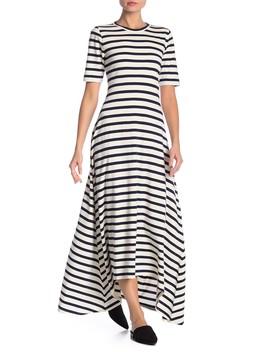 Short Sleeve Stripe Print Dress by J. Crew