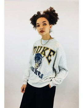 Vintage Usa Duke University Graphic Sweatshirt by Old But Gold Vintage